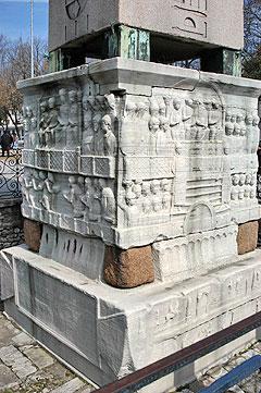 Base del Obelisco de Teodosio, Hipódromo de Constantinopla