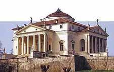 La Villa Capra en Vicenza