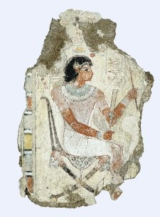 Lámina 1. Pintura de Nebamun