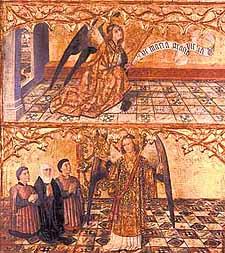 Joan Reixach, Tablas de Anunciación, c.1460