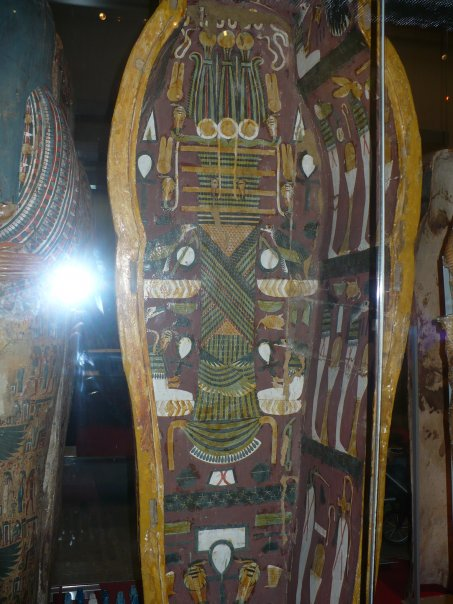 Lámina 3. Tumba egipcia