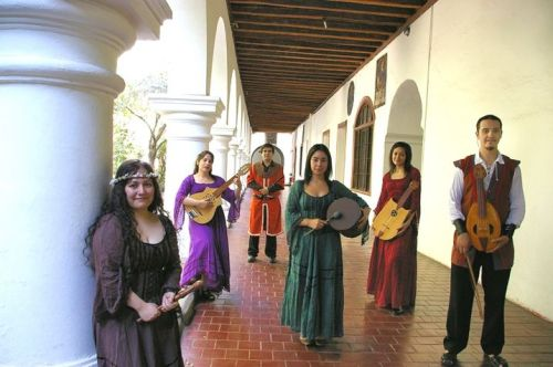 Grupo de música medieval Mira Gestorum