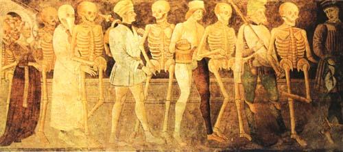 Danza de la muerte, h.1470