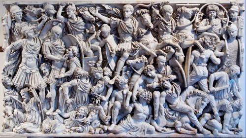Sarcófago de Ludovisi, siglo III d.C.