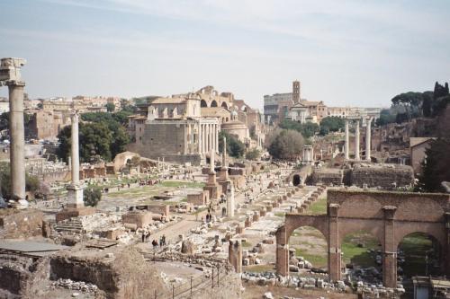 Ruinas de la Antigua Roma