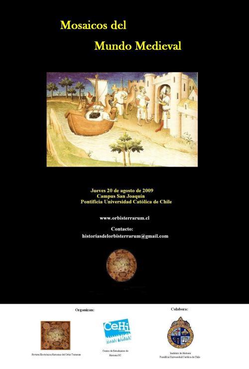 Afiche Mosaicos del Mundo Medieval