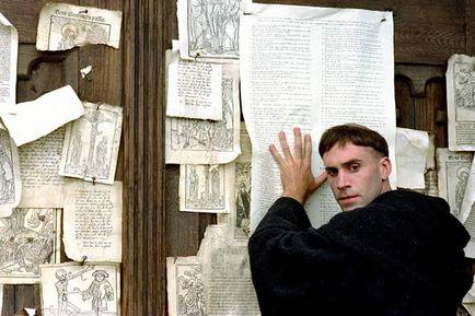 Lutero y las 95 tesis