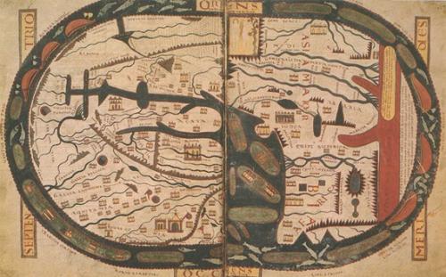 Mapamundi, Beato de Fernando I y Sancha