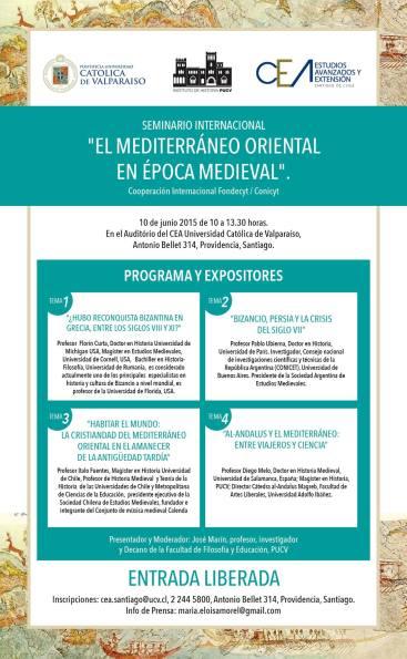 Seminario El Mediterráneo Oriental